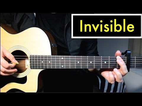 Invisible 5 Seconds Of Summer Guitar Lesson Tutorial Chords