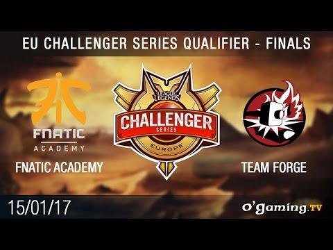 Fnatic Academy vs Team Forge - EU CS 2017 Qualifier finals - Finale 1 - League of Legends