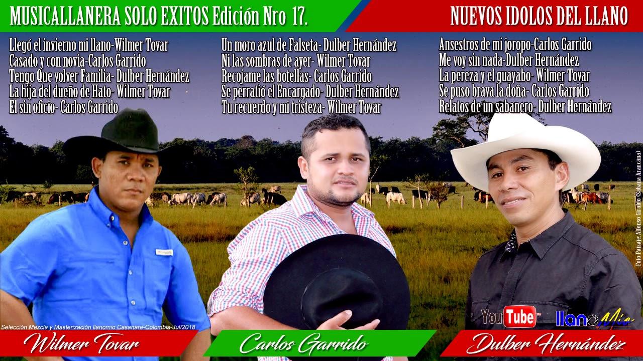 Musica Llanera Solo Exitos 17 Nuevos Idolos Del Llano Youtube
