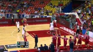 Nigeria Vs. Russia / 2012 FIBA Olympic Qualifying Tournament: Semi-Final