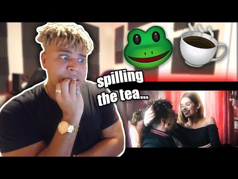 Reacting to Charle$ - On Me ft. Sylvia Gani (real tea behind the music video)