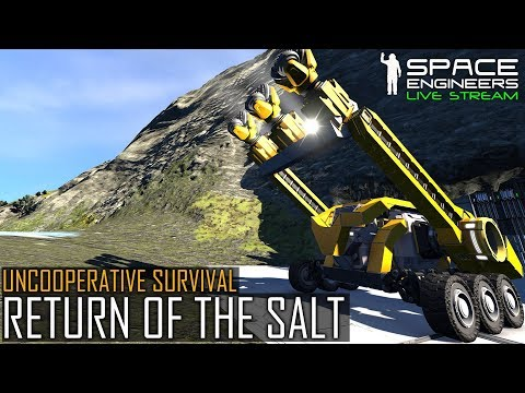 Space Engineers: RETURN OF THE SALT - Uncooperative Survival #5 (Planetary PvE & MOD Madness)