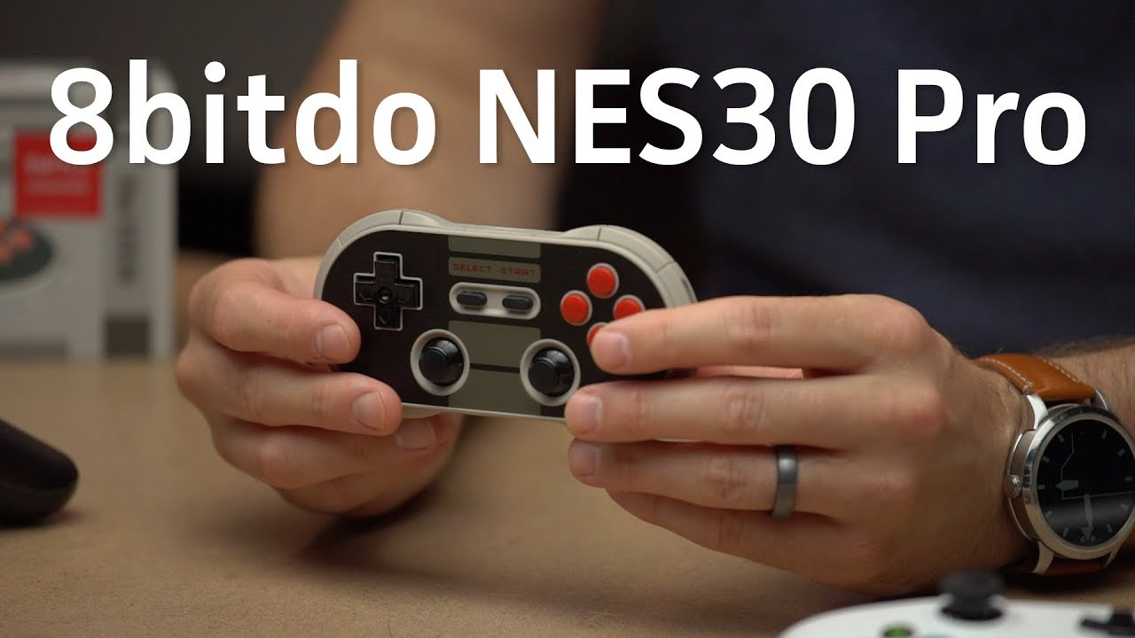 8bitdo N30 Pro review: A versatile controller with a retro Nintendo feel