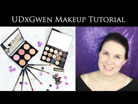 Quick And Easy Makeup Tutorial With The Urban Decay Gwen Stefani Blush Palette And Lipstick