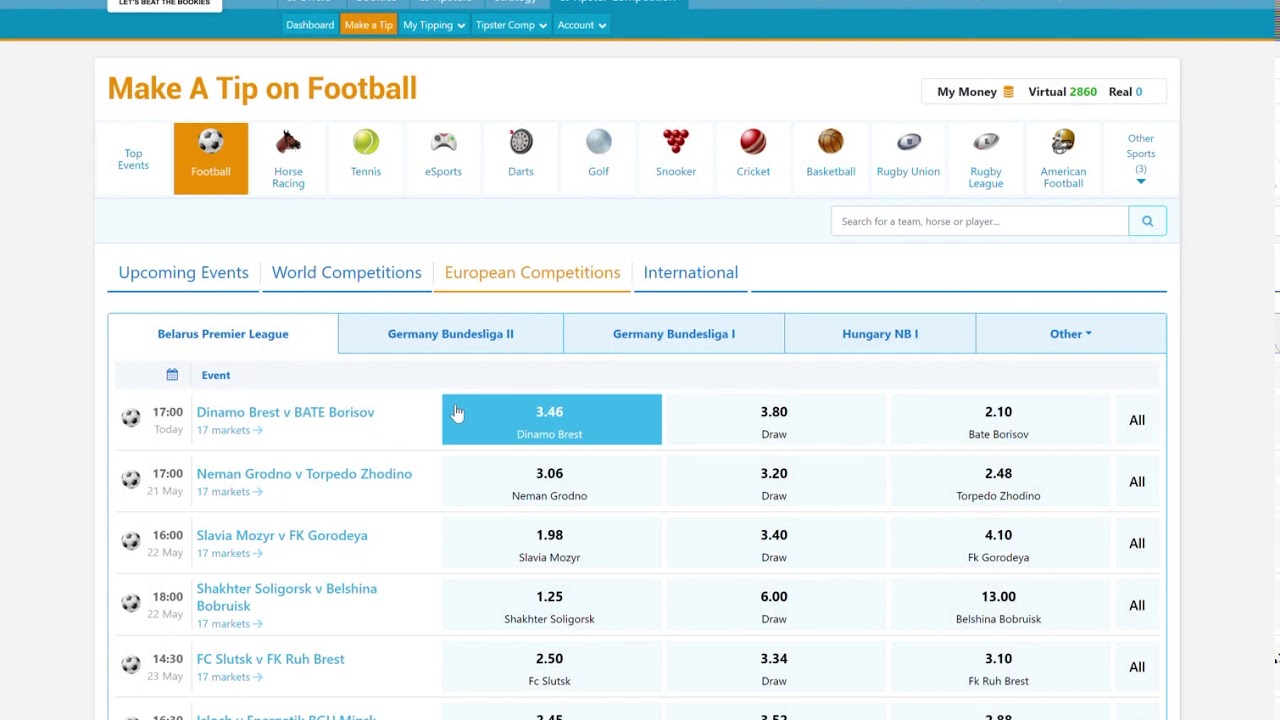 Ogbl betting websites sports betting africa todays matches at wimbledon