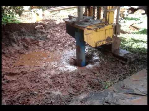 Perforaci n pozo perforado agua pura youtube for Como hacer un tanque de agua para rustico