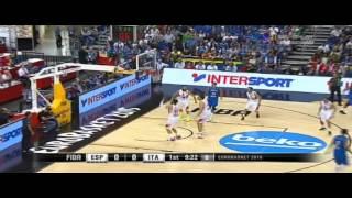 2015 Eurobasket Italy vs Spain Preliminary Round