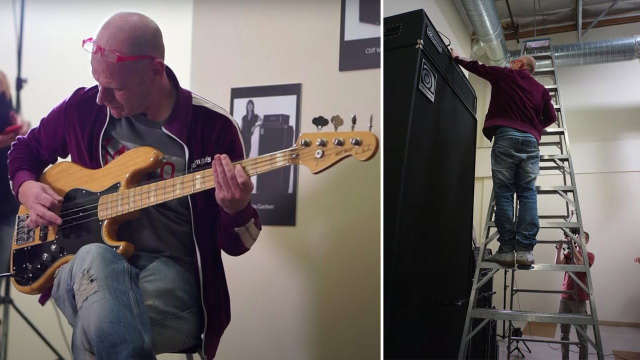 Junkie XL details the 13-foot Ampeg bass amp used on the Godzilla vs. Kong soundtrack