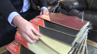 Leather vs. Bonded Leather Demo, Ross Furniture and Bedding, Jackson, Missouri, 63755
