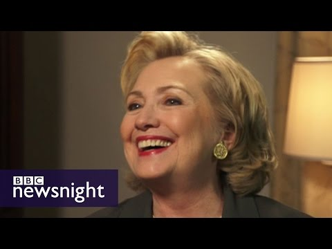 Jeremy Paxman interviews Hillary Clinton  - Newsnight Archives (2014)