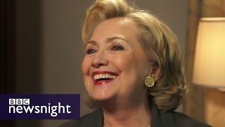 Jeremy Paxman interviews Hillary Clinton  - Newsnight Archives (2014)