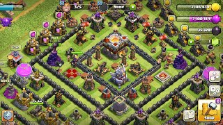 Clash of clans: How To Recover from a Rushed Base | TH 11 Rushed Base