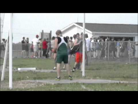 Jason Fry discus sophomore