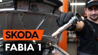 Jak vyměnit Zapalovaci civka на SKODA FABIA Combi (6Y5) - online zdarma video