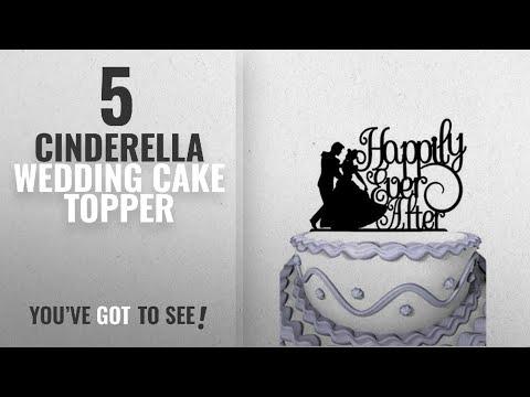 Top 10 Cinderella Wedding Cake Topper [2018]: Meijiafei Wedding Cake Topper - Humble Girl Happily