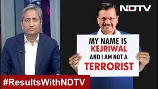 Prime Time With Ravish, Feb 11, 2020 | दिल्ली नतीजे - My Name Is Kejriwal And I Am Not A Terrorist