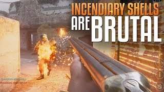Call of Duty: WW2 Multiplayer Gameplay - Incendiary Shells Are Brutal!