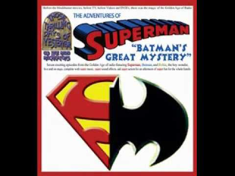 Superman On Radio - Batman