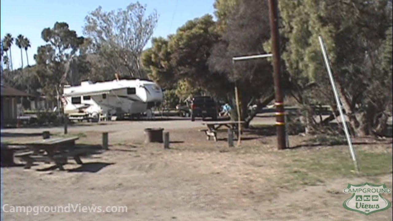 Campgroundviews Refugio State Beach Campground Goleta Santa Barbara California Ca