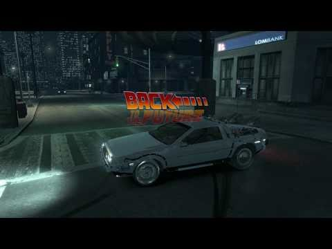 GTA IV DeLorean Test Drive - WIP (work in progress)