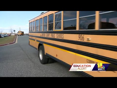 Harford County cracks down as drivers ignore stopped buses