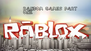 TRYING TO GET MY PSP BACK? | Roblox | Random Games Part 1