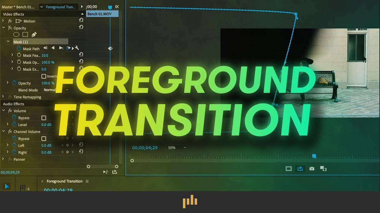 How to Create a Foreground Transition in Adobe Premiere Pro
