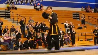 Sung Jin Suh, advanced forms demonstration, Kuk Sool Won Pacific Coast Tournament, 2016