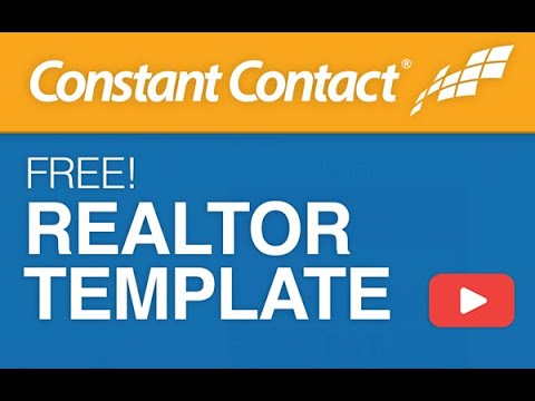 Realtor Email Template For Constant Contact