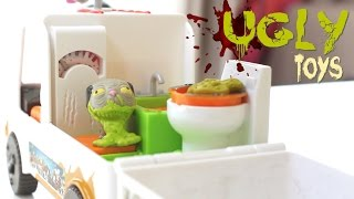 Игрушки Для Мальчиков! Уродливый Зоомагазин + АВТОМОБИЛЬ! Распаковка Игрушек! Ugglies Pet Shop Van(, 2016-02-09T01:15:45.000Z)