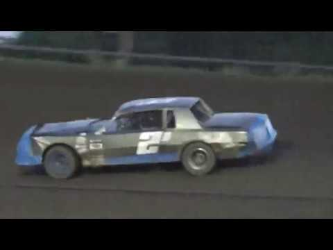 Josh Gebhart - Hobby Stock Feature - Wagner Speedway 7/07/2017