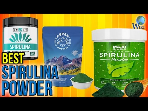 10 Best Spirulina Powders 2017