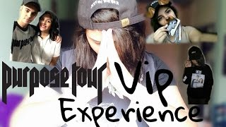 CONOCÍ A JUSTIN BIEBER!! Purpose World Tour Vip Experience | Viko