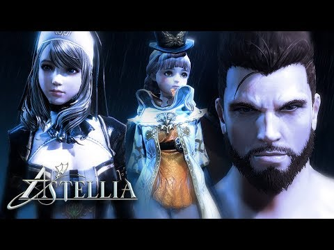 Astellia - Character Creation - 2nd CBT - PC - F2P - KR