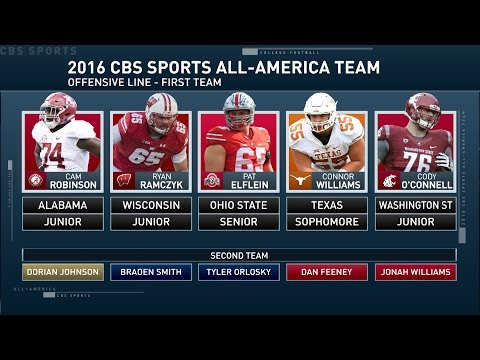 Inside College Football: All-American offensive linemen