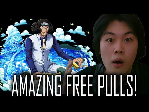 [Late] AMAZING FREE PULLS! Oh and I'm back lol | One Piece Treasure Cruise | ワンピース (トレクル)