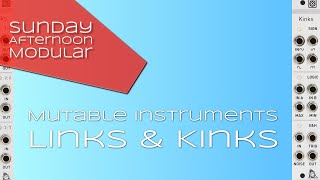 Mutable Instruments Links & Kinks Introduction