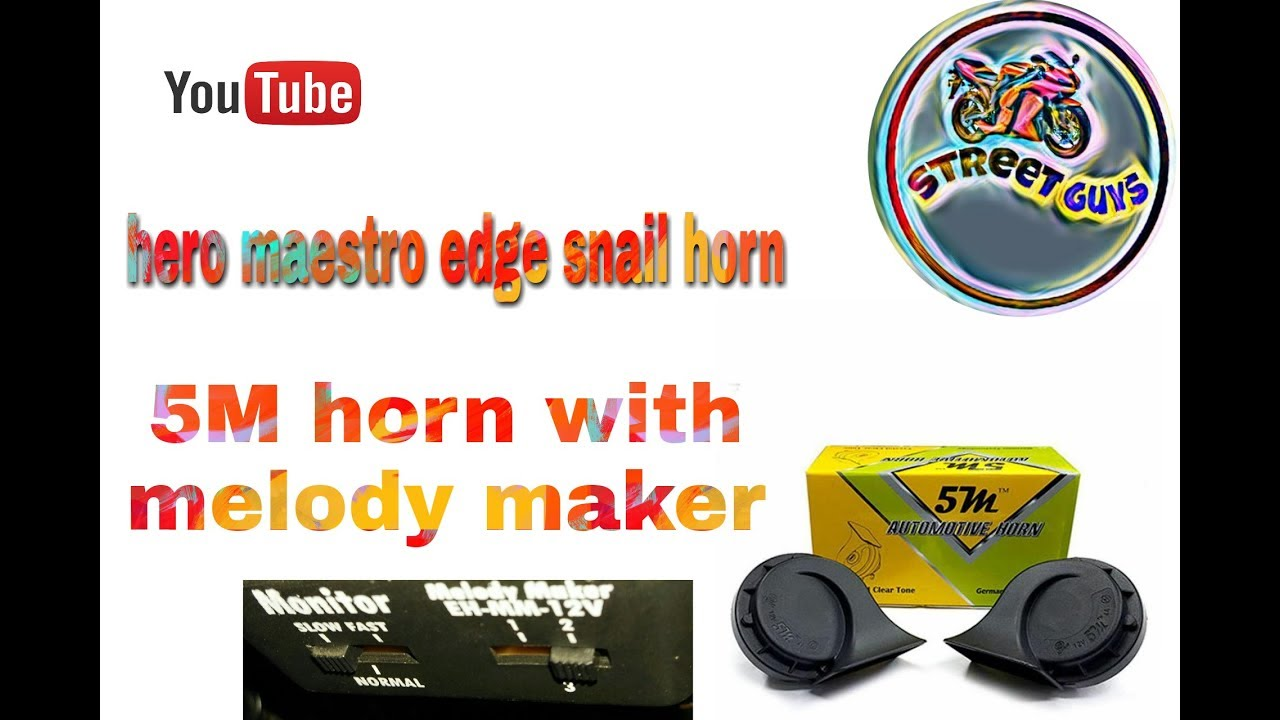 Air snail horn with melody maker for meastro edge youtube air snail horn with melody maker for meastro edge swarovskicordoba Image collections