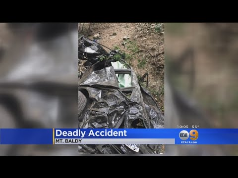 1 Teen Dead, 2 Others Injured When Car Falls 500 Feet On Mt. Baldy
