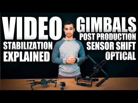 Video Stabilization Explained   Gimbals   Optical   Sensor   Software