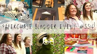 Paperchase #SS16 Blogger Event & Goody Bag Haul! | MyGreenCow
