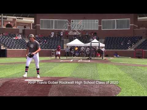 RHP Travis Gober Rockwall High School Class of 2020