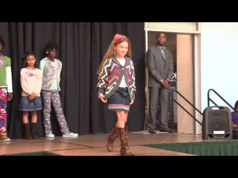 Junior Girls Day Out Community Project Fashion Show 10-12-13