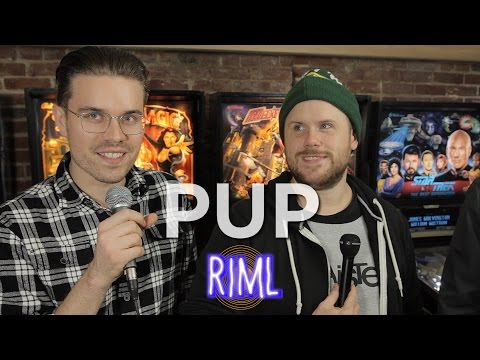 Pup - Records In My Life Interview 2016