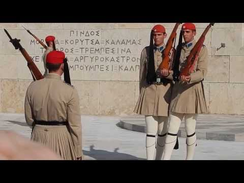Greek Parliament Guards in Athens.