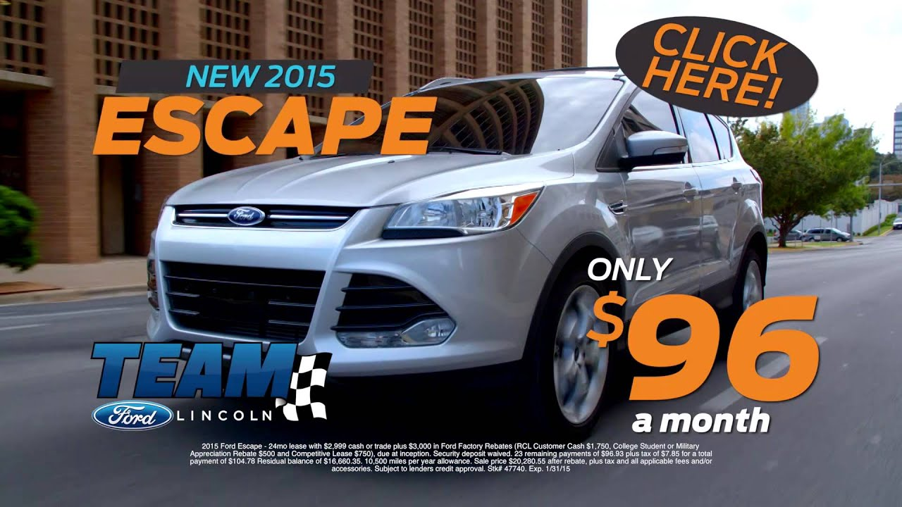 Team Ford Lincoln >> Make The Switch At Team Ford In Las Vegas