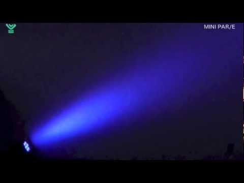 シルバースター MINI PAR/E LEDパーライト