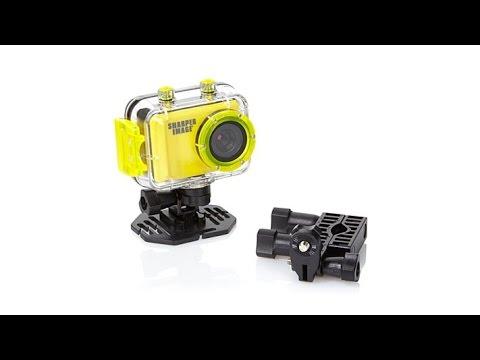 Sharper Image High Def Action Cam With Still Image Captu Youtube