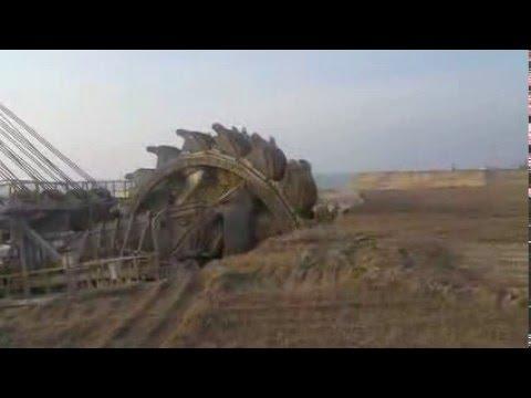 big excavator - open pit mine
