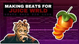 HOW TO MAKE A JUICE WRLD TYPE BEAT [Death Race For Love] (FL Studio Tutorial)